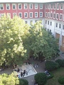 Courtyard of the Faculty of Social Sciences