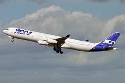 A former Joon Airbus A340-300