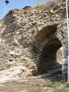Main Gate of the Fortress in Prizren, which Dušan used as capital of Empire