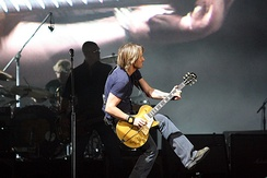 Keith Urban in concert in 2007