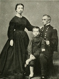 Anderson with his wife, Eliza Bayard Anderson, and son, Robert Jr.