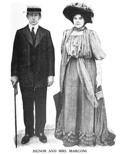 Marconi with his wife c. 1910