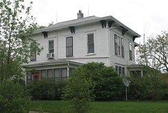Mansion on South Vine Street where both Missouri governors from Maryville, (Albert P. Morehouse and Forrest C. Donnell), coincidentally lived, 2007