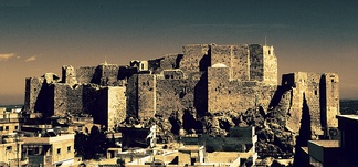 Masyaf Castle, one of the most famous historical sites in Syria and the most famous castle of the Syrian Assassins