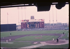 A Twins game at the Met, July 30, 1964.