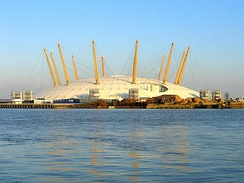 The O2 in 2004, when it was the Millennium Dome