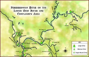 Mississippian sites on the Lower Ohio River