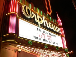 The Orpheum Theatre, 2007