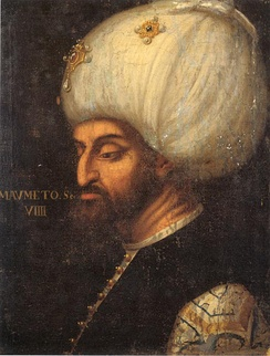 Mehmed the Second, portrait by Paolo Veronese