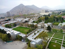 Arg, the Presidential Palace in Kabul