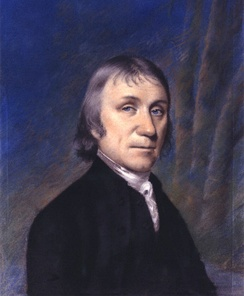 "Joseph Priestley, an English chemist known for isolating oxygen, which he termed ""dephlogisticated air."""
