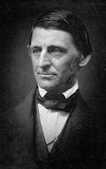 """Colors of the Wind"" has been compared to the writings of transcendentalists Henry David Thoreau (left) and Ralph Waldo Emerson (right)."