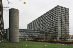 Rigshospitalet is one of the largest hospitals in Denmark.