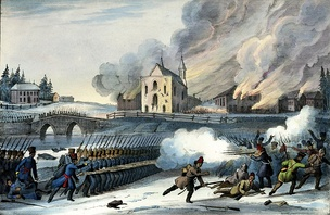 The Papineau Rebellion of 1837.