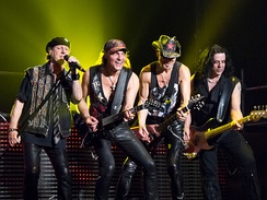The Scorpions were the first German heavy metal band to be highly successful overseas, ultimately selling more than 100 million albums worldwide.