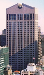 550 Madison Avenue (Formerly AT&T Building) in Manhattan, New York City, by Philip Johnson (1982)