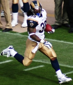 Rams' all-time leading rusher running back Steven Jackson