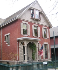 The house that Susan B. Anthony shared with her sister in Rochester. She was arrested here for voting.