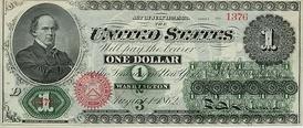Доллар 1862 года