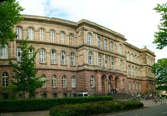 The main building of RWTH Aachen University