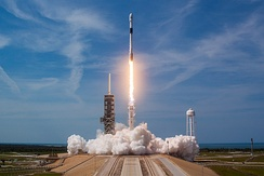 In 2018, the first payload of SpaceX's Falcon 9 Block 5 rocket was the Bangabandhu-1 satellite built by Thales Alenia Space