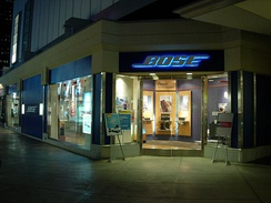Bose store in Century City
