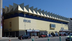 Odeon Kingswest on Brighton seafront opened in 1973