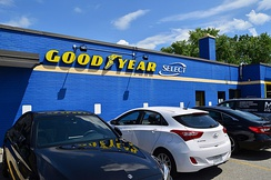 Goodyear Tire shop in Markham, Ontario