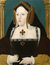 Catherine of Aragon: marriage was annulled - by the Church of England - for not producing a male heir to the Tudor dynasty