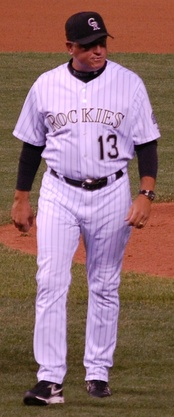 With the Rockies in 2007