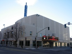 The Fox Theater in Spokane's Davenport Arts District