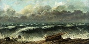 Gustave Courbet, The Waves, 1869