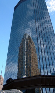 The IDS Tower, designed by Philip Johnson, is the state's tallest building,[84] reflecting César Pelli's Art Deco-style Wells Fargo Center
