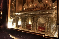 Reliquary of John of the Cross in Úbeda, Spain