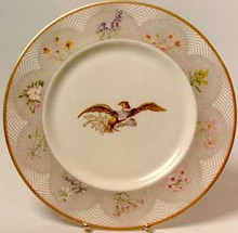White House china service for Lady Bird Johnson