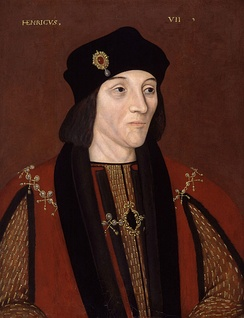 Late 16th-century copy of a portrait of Henry VII