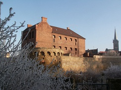 Bastion near old prison