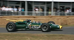 Lotus 38 at Goodwood 2010