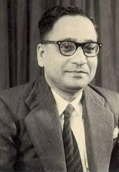 Prof. Sambhu Nath De, who discovered the cholera toxin and successfully demonstrate the transmission of cholera pathogen by bacterial enteric toxin