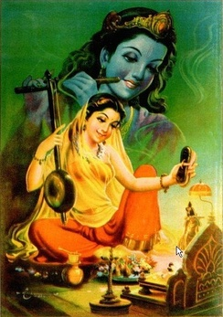 Meera (1498-1546) was one of the most significant poet-saints in the Vaishnava bhakti movement.[55]