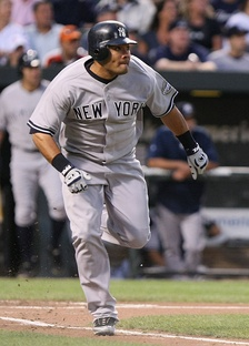 Cabrera with the New York Yankees in 2009