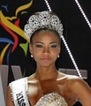 The Diamond Nexus Crown as worn by Miss Universe 2011, Leila Lopes