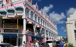 Oranjestad, the capital of Aruba