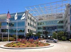 PayPal's corporate headquarters in San Jose, California