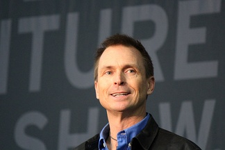 Phil Keoghan, the host of The Amazing Race