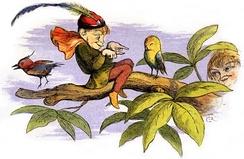 Английский эльф из традиционных сказок. Ричард Дойль, английский художник XIXв.