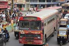Local buses in Pune