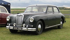 RMH 2½-litre Pathfinder 1953the last real Riley with the Big Four engine 1956 example