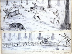 Sketches of life in the Hudson's Bay Company territory, 1875