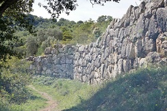 Etruscan city walls